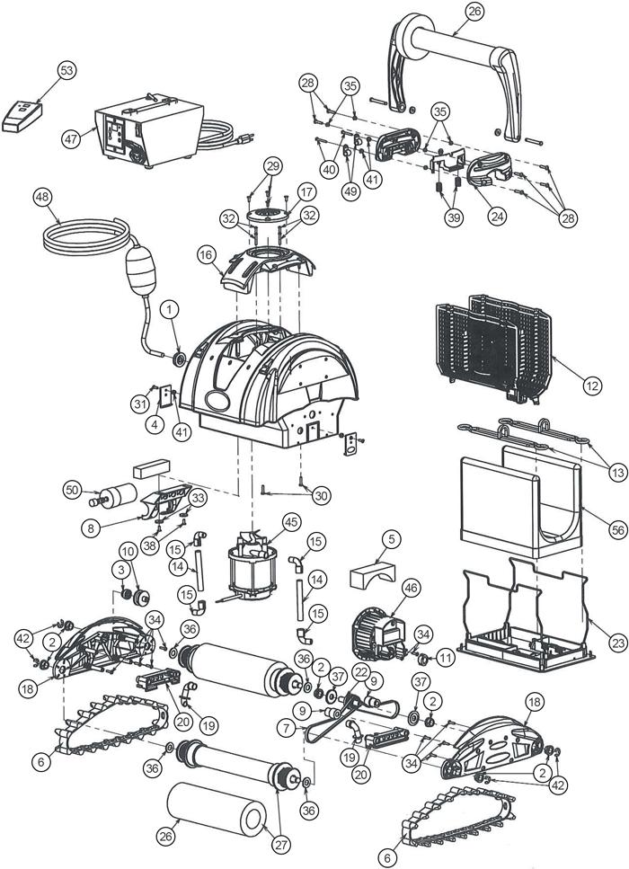 astral robots el ctrico piezas de recambio piezas. Black Bedroom Furniture Sets. Home Design Ideas