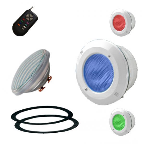 Bombilla led blanco color mando a distancia for Bombillas led con mando a distancia