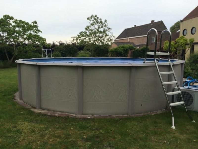 Escaleras de acero inoxidable para piscinas elevadas - Escaleras de piscinas baratas ...