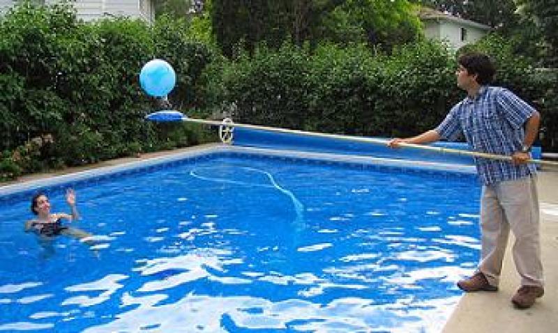 Barrefondo piscina for Agua piscina
