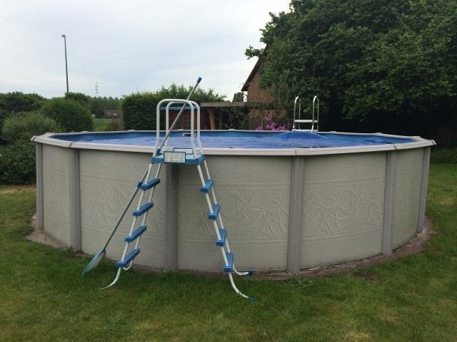 Escaleras para piscinas de plastico intex - Cubre piscinas intex ...