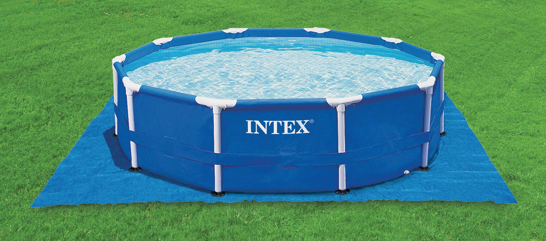 Piscinas intex tubulares intex for Cubre piscinas intex